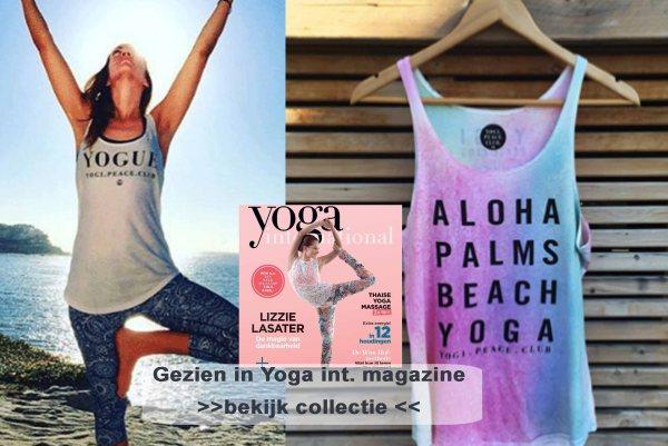 Deze maand in Yoga International Magazine: win een yoga top van Yogi peace club. Exclusief verkrijgbaar in de webshop van gewoon lekker puur.